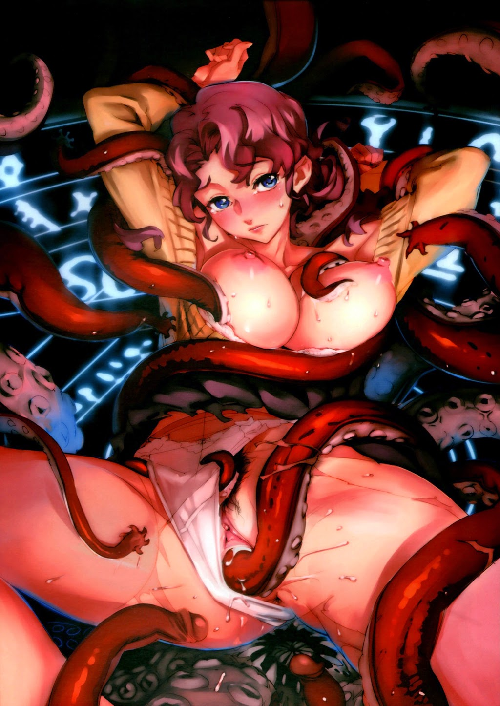 Mars sailor moon tentacle hentai