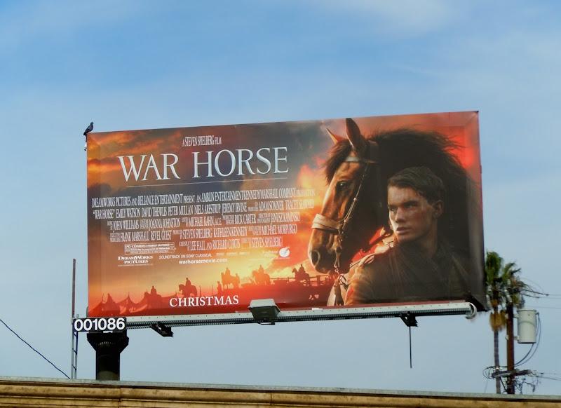 War Horse film billboard