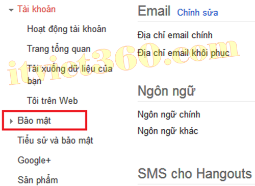 Bảo mật Gmail, Security Gmail Google
