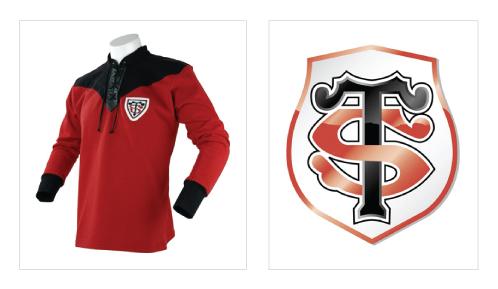 Favori Design sporting club: Un logo, une histoire : Le Rugby Club  BV94