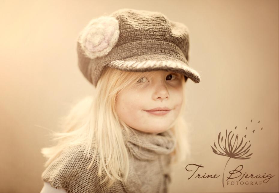 Barnebilder fotografert ute, Fotograf Trine Bjervig