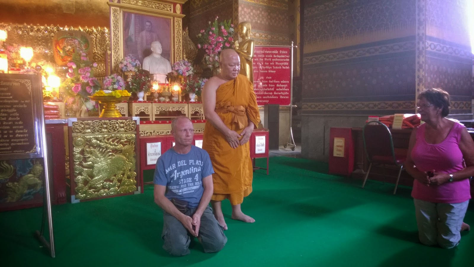 gouden thaise boeddha betekenis