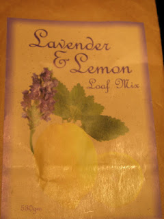 lemon lavender loaf