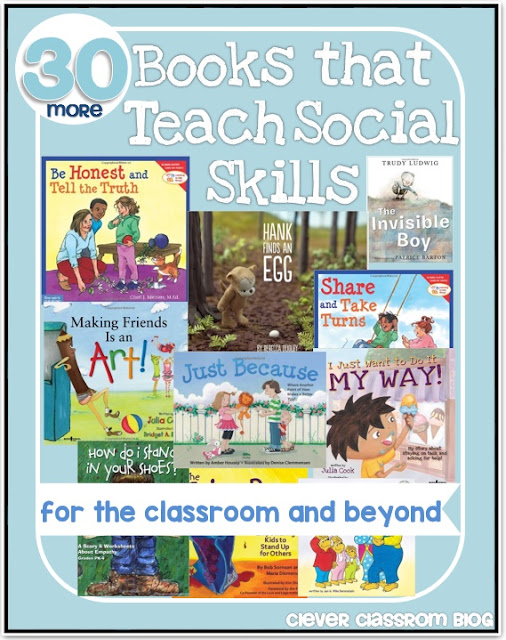 Social Skills book list and Classroom Expectations resources