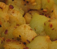 Potatoes, mustard seeds