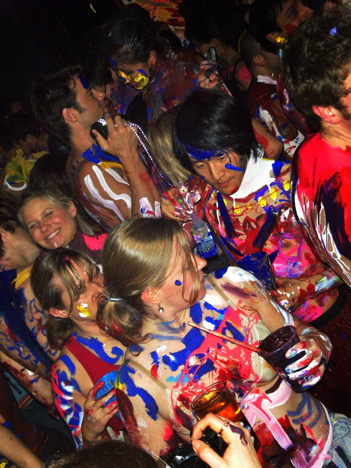 body painting party 2014