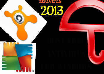 2013 Best Free Antivirus Software for Windows XP