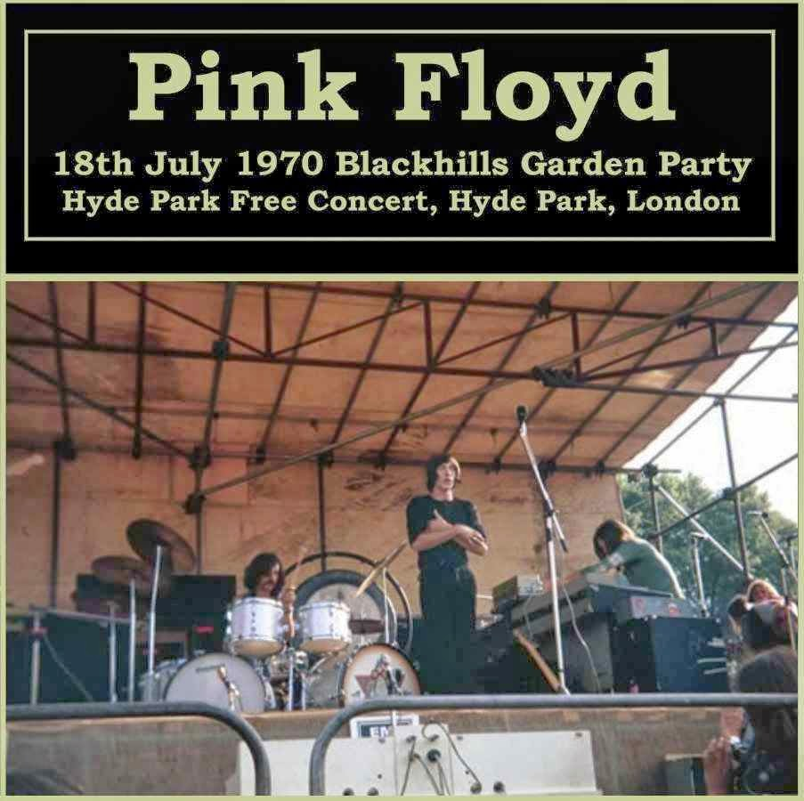 bootleg addiction pink floyd hyde park free concert 1970