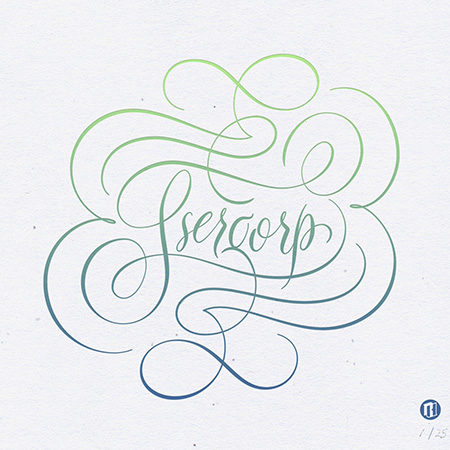 Los proyectos tipográficos de Ryan Hamric