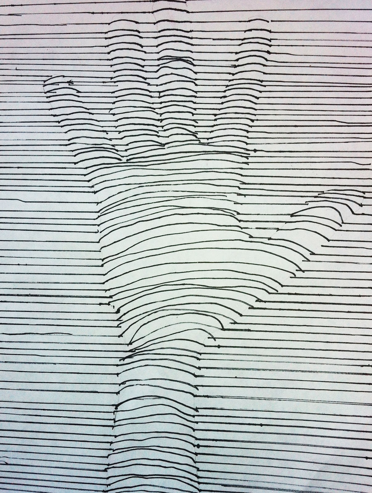 Simple Contour Line Drawing : Sacred heart art room contour line drawings