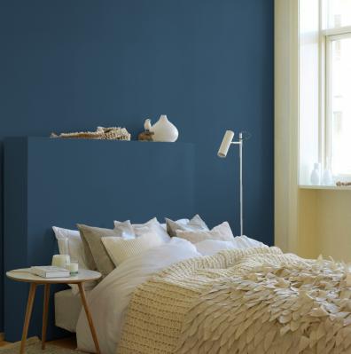 heimsverden: Marineblått soverom