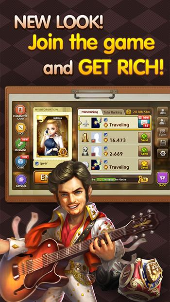 Game LINE Lets Get Rich MOD Apk Versi 1.2.0