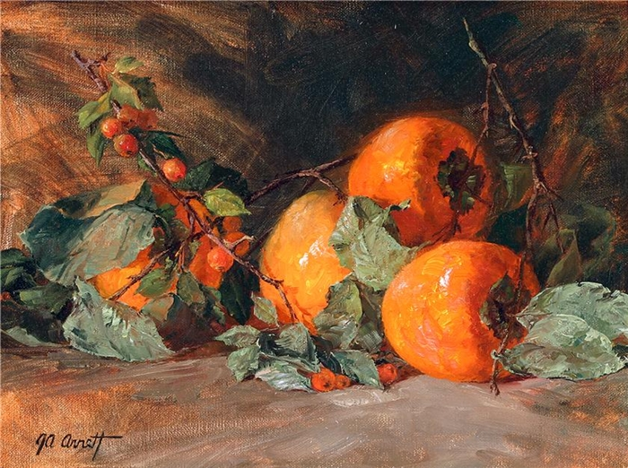 Joe Anna Arnett 1950 American Still life painter