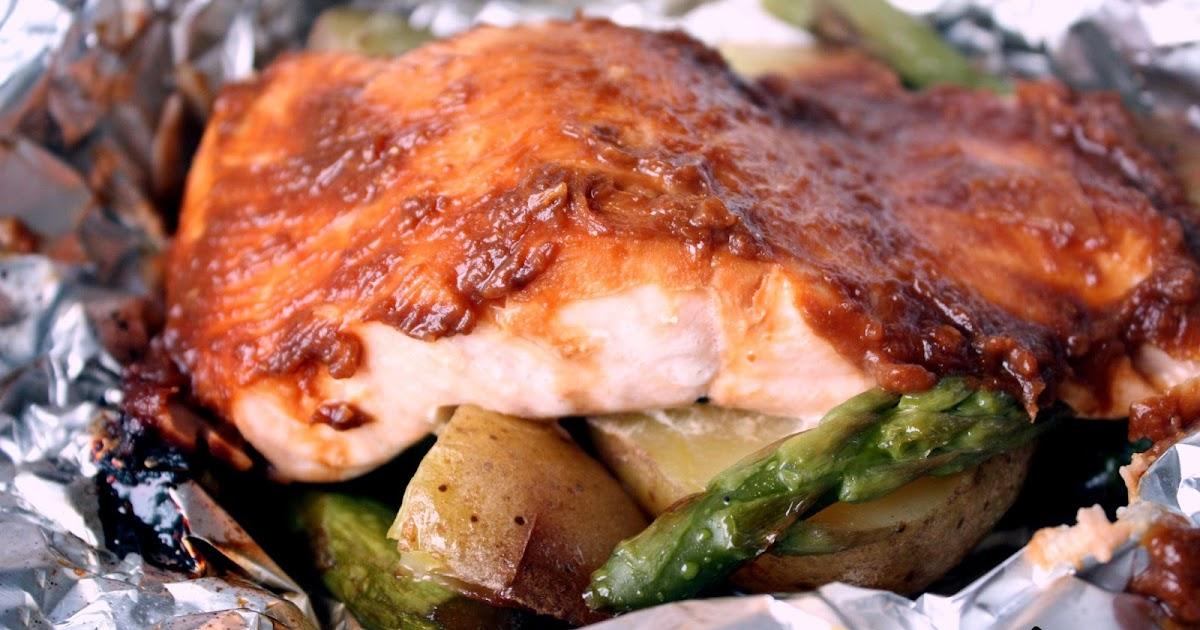 Le coin recettes de jos papillotes de saumon au miso for Saumon en papillote au barbecue