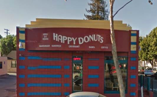 Happy Donuts in Palo Alto is Closing