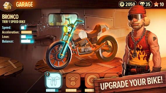 تحميل لعبة سباق الدراجات المميزة والواقعية للأيفون وأنظمة iOS مجاناً Trials Frontier iOS-IPA 2.0