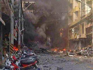 Terkini Gambar Gambar Letupan Bom Di Betong Thailand