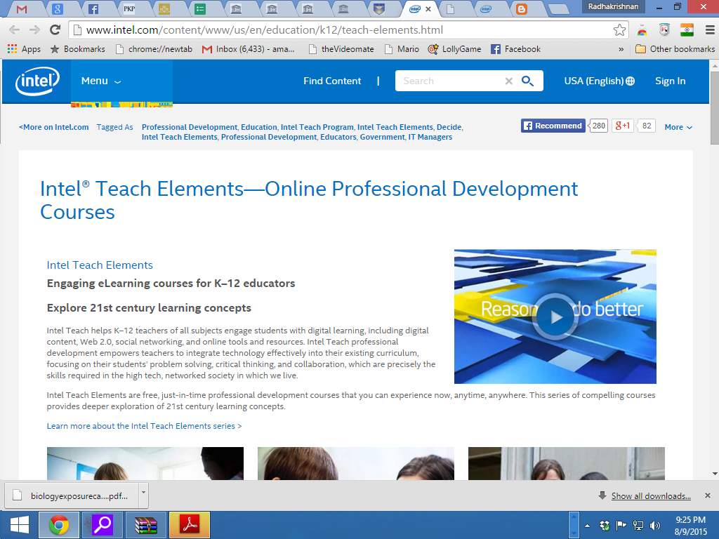 UNESCO-Intel Teaching and Learning Resources