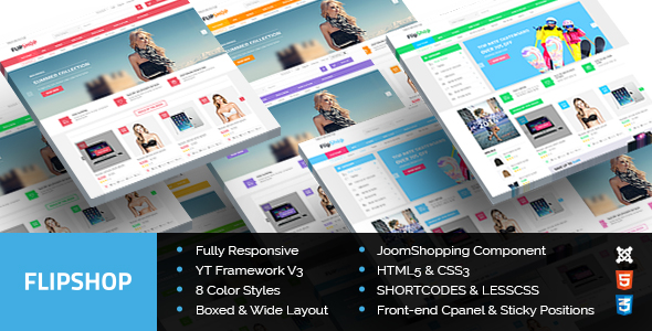 New Responsive Joomla Theme
