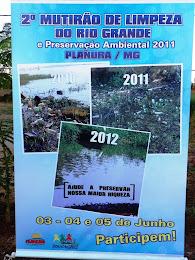 Limpeza do Rio Grande 2011