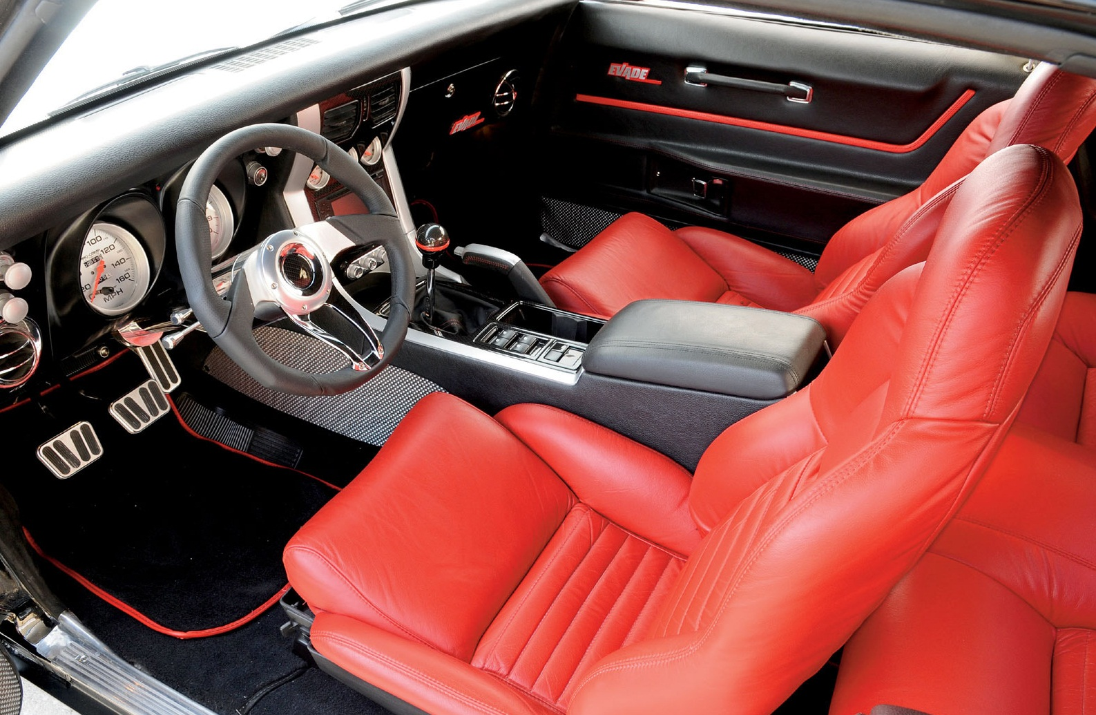Custom Muscle Car Interior 1968 Chevy Camaro Z28 Interior