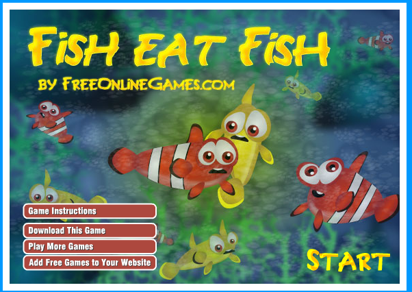 Nota ikan hiasan kamu games for Fish eat fish game