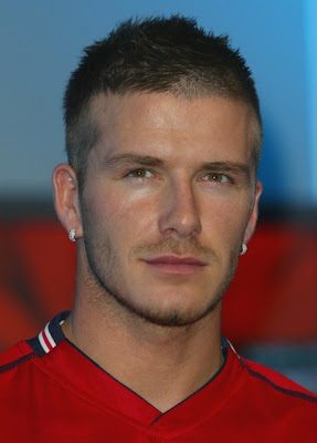 DAVID BECKHAM SHORT BUZZ HAIRCUT