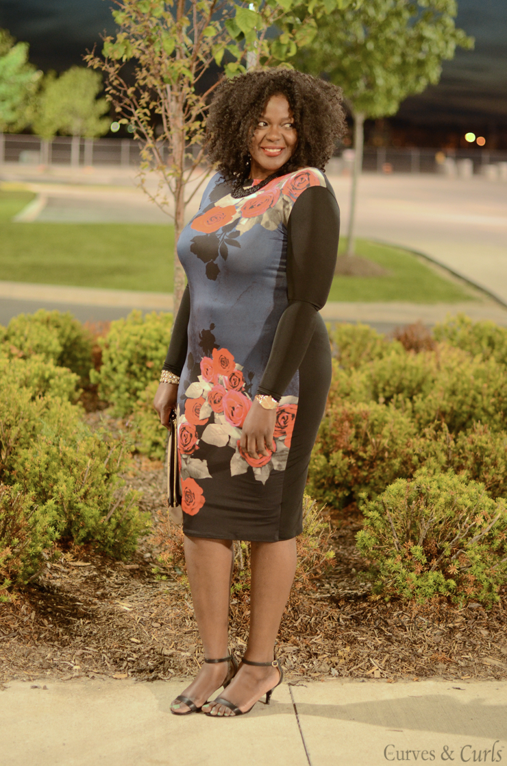 #Plussize fashion #blogger: how to rock a bodycon dress/ mode de femme ronde #curves