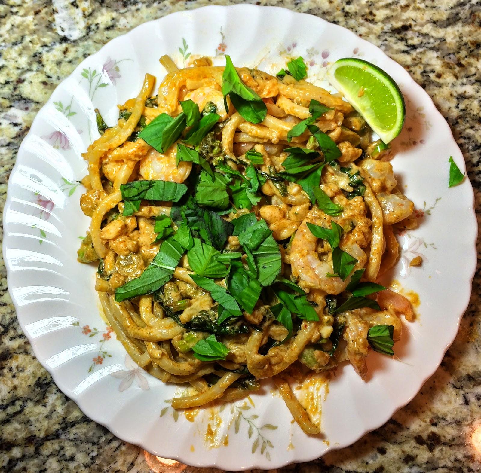 Blue apron khao soi - Ingredients For Tom Yum Style Shrimp Noodles With Gai Lan Thai Basil