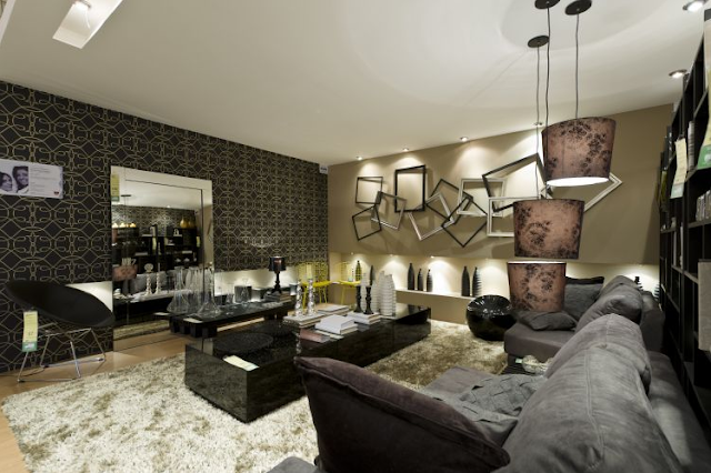 Salas de estar amplias living grandes diseno de interiores Diseno de interiores sala de estar