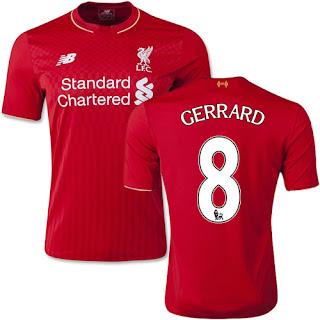Camisa Liverpool Gerrard