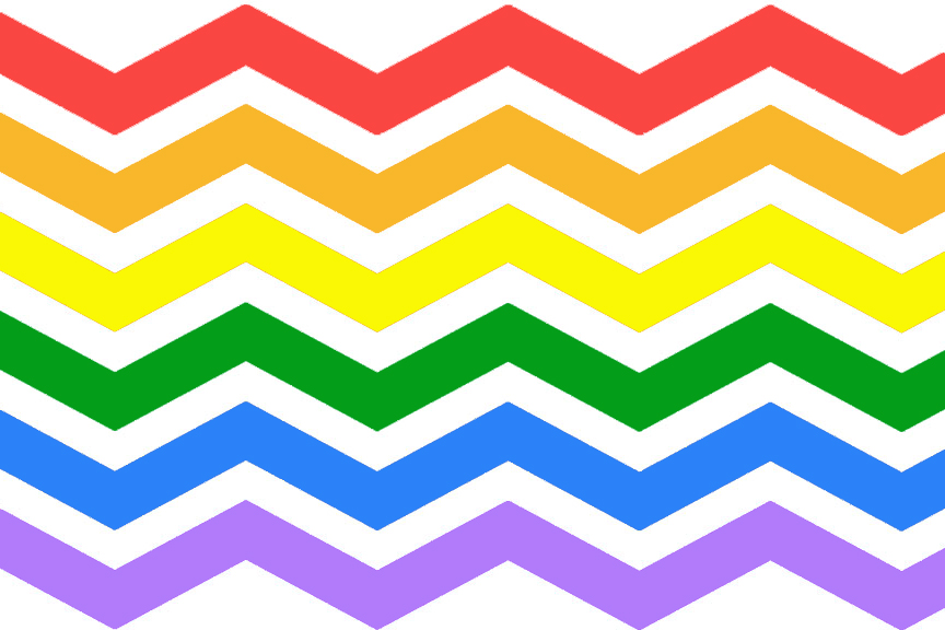 rainbow chevron background - photo #6