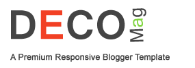 Deco Mag Blogger Template