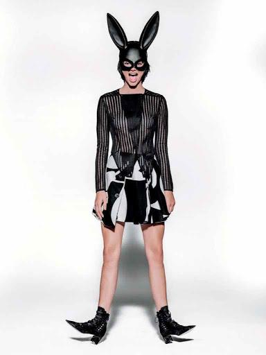 Kendall Jenner photo shoot Vogue UK Magazine January 2016