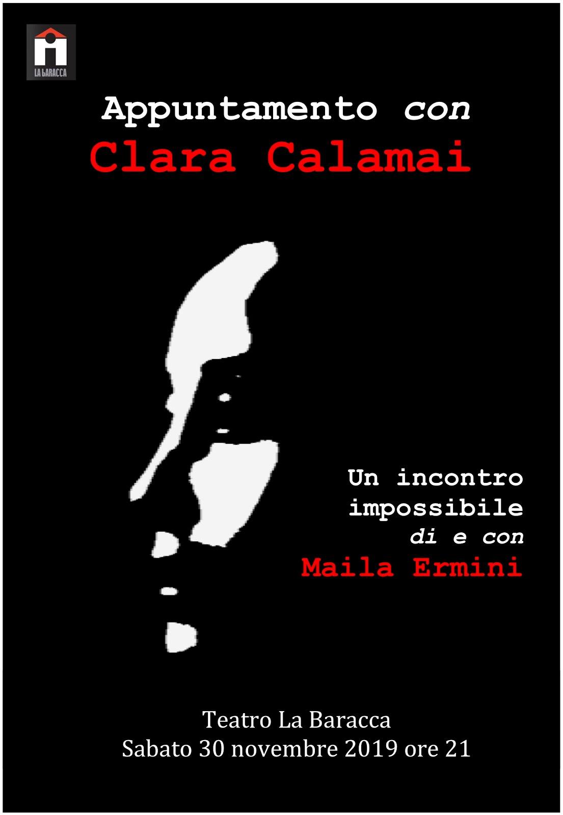 Appuntamento con Clara Calamai