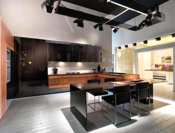 mutlak membutuhkan keahlian seorang desainer agar bisa memanfaatkan setiap sudut ruangan  Inilah 15 Inspirasi Penataan Dapur Minimalis