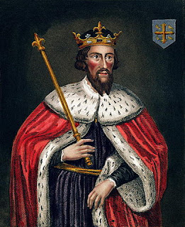 """King Alfred (The Great)"" by Founder of Oriel College, after a painting in the Bodleian Library (colour engraving) by English School (19th century) - bridgemanartondemand.com. Licensed under Public Domain via Wikimedia Commons - http://commons.wikimedia.org/wiki/File:King_Alfred_(The_Great).jpg#/media/File:King_Alfred_(The_Great).jpg"