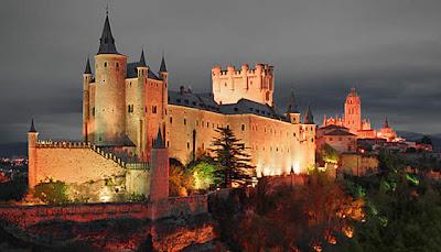 Segovia alcázar turismo