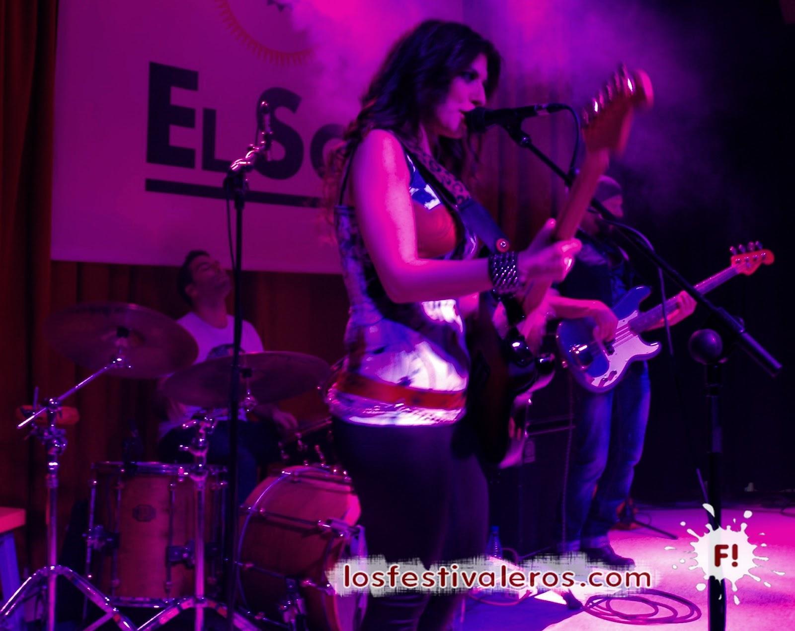 Susan Santos, Sala El Sol, Electric Love, concierto