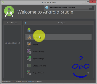 OpO - Menghubungkan Android SDK With Android Studio