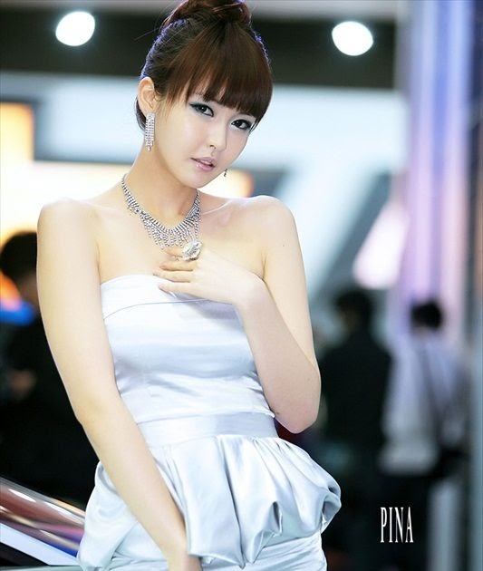 Pretty Car: Lee Ji Woo Race Queen Korea สวย น่ารัก