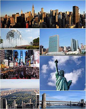 5º maior cidade do Mundo - Nova York