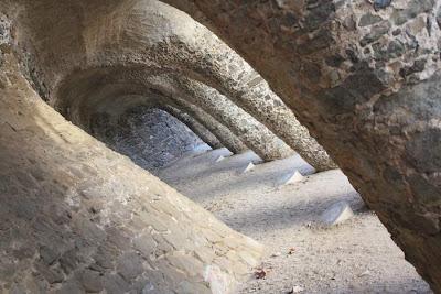 Viaduct Bellesguard in Barcelona