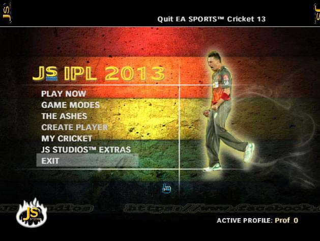 Pepsi IPL 6 Cricket Patch 2013 Js Studios New Screenshots