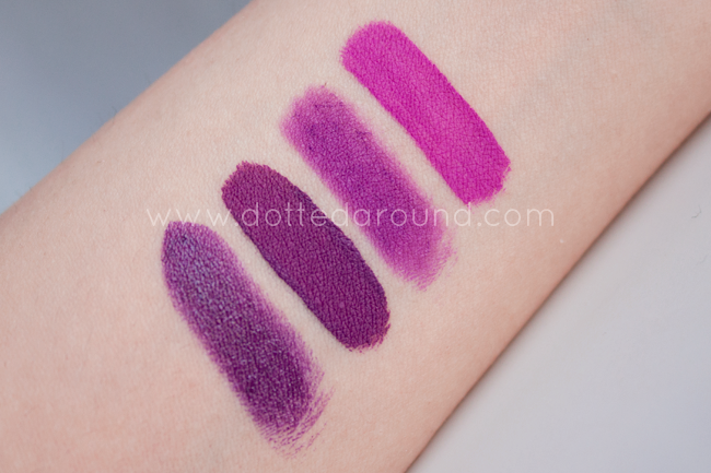 Anastasia Beverly Hills Vintage swatch lime crime