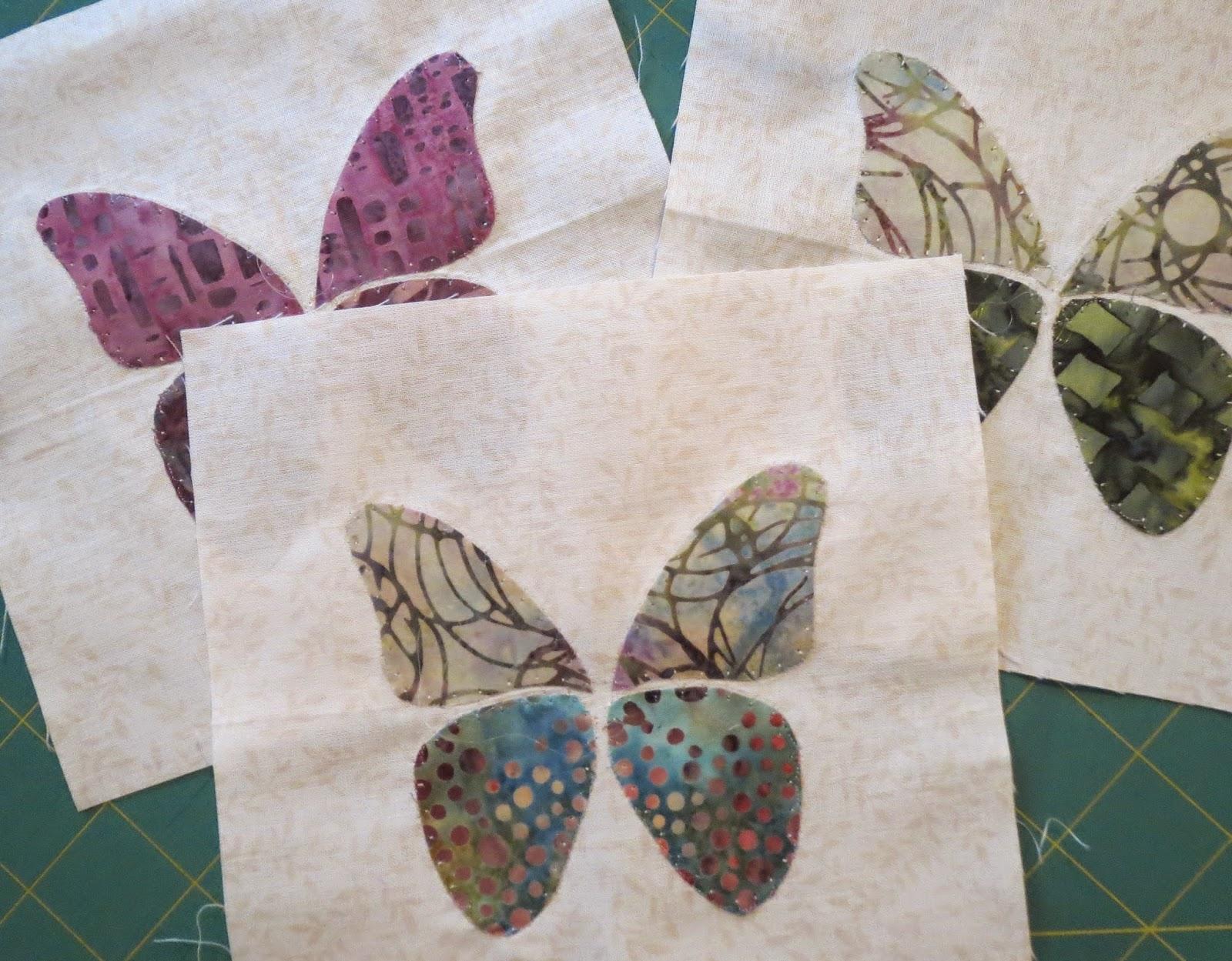 Quilting on Main Street: Little Butterflies - Project Update : butterfly applique quilt - Adamdwight.com