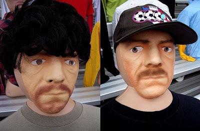 ψεύτικοι φωτογραφίες φουσκωτή κούκλα ταινίες κομπάρσοι