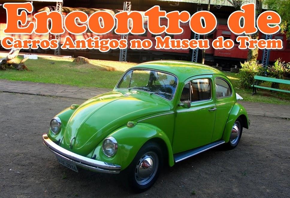 ENCONTRO DE CARROS ANTIGOS NO MUSEU DO TREM