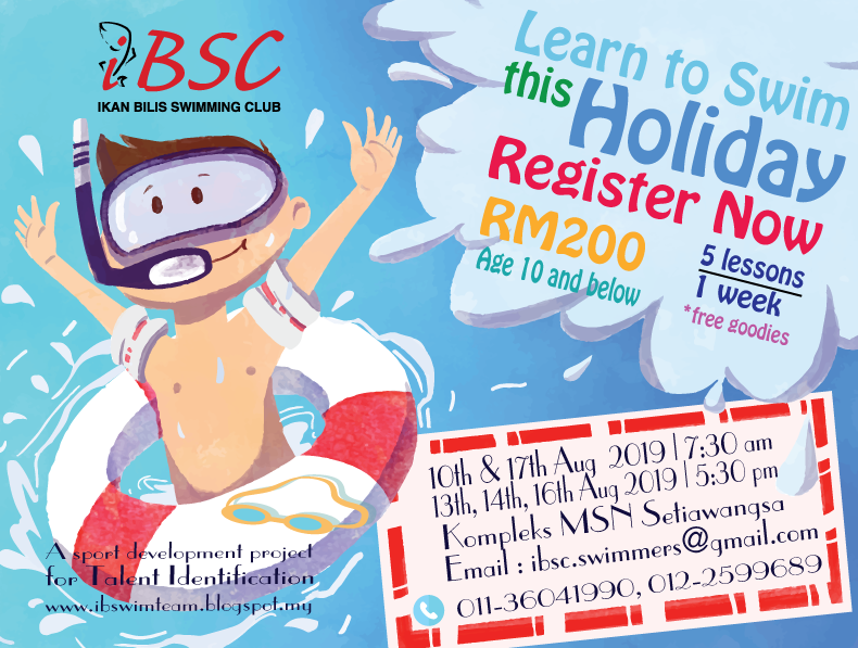 Holiday Learn to Swim-Setiawangsa