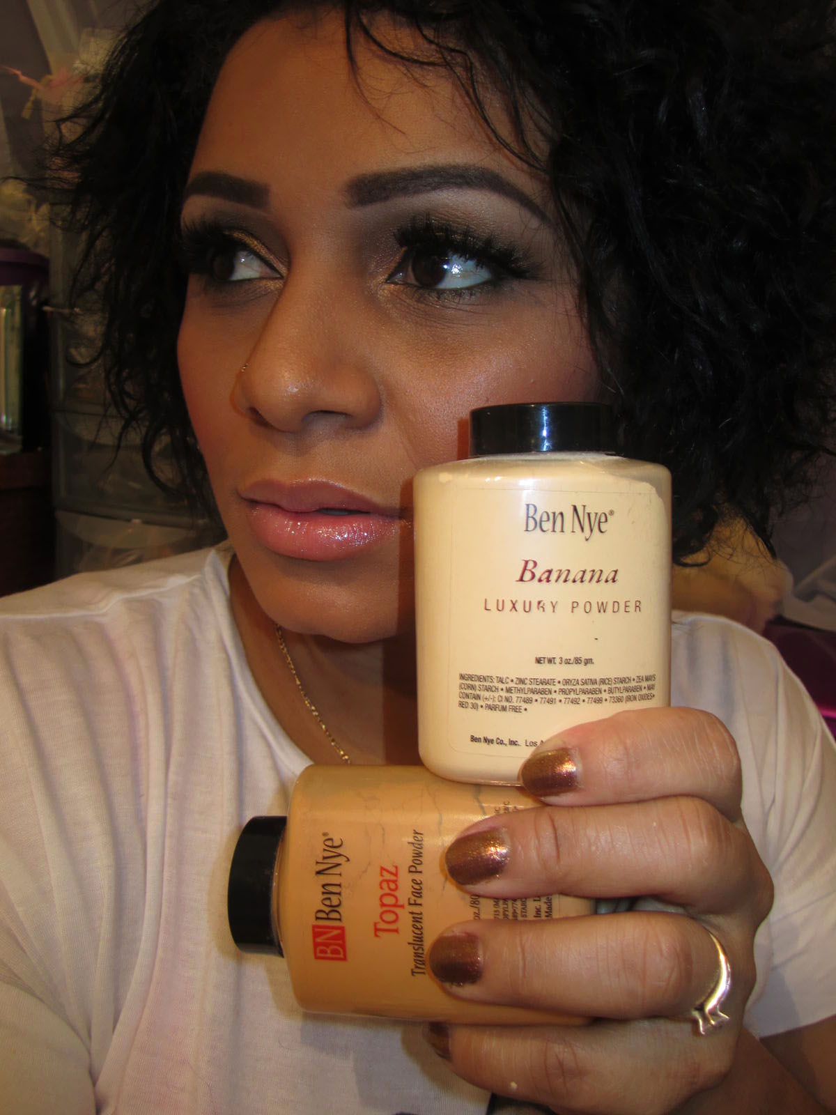 how to use ben nye neutral set translucent powder